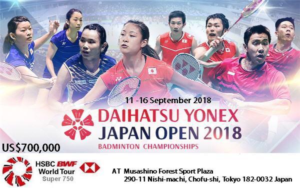 Daihatsu Yonex Japan Open 2018