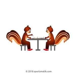 Gillu practicing Chess