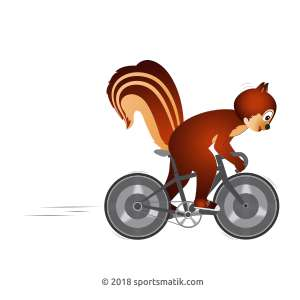 Gillu practicing Cycling