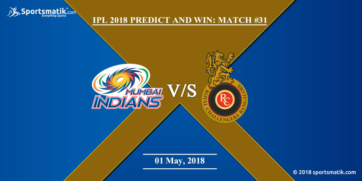 IPL 2018 Predict and Win: Match #31