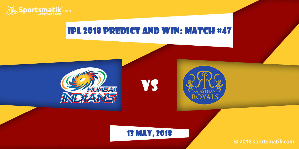 IPL 2018 Predict and Win: Match #47