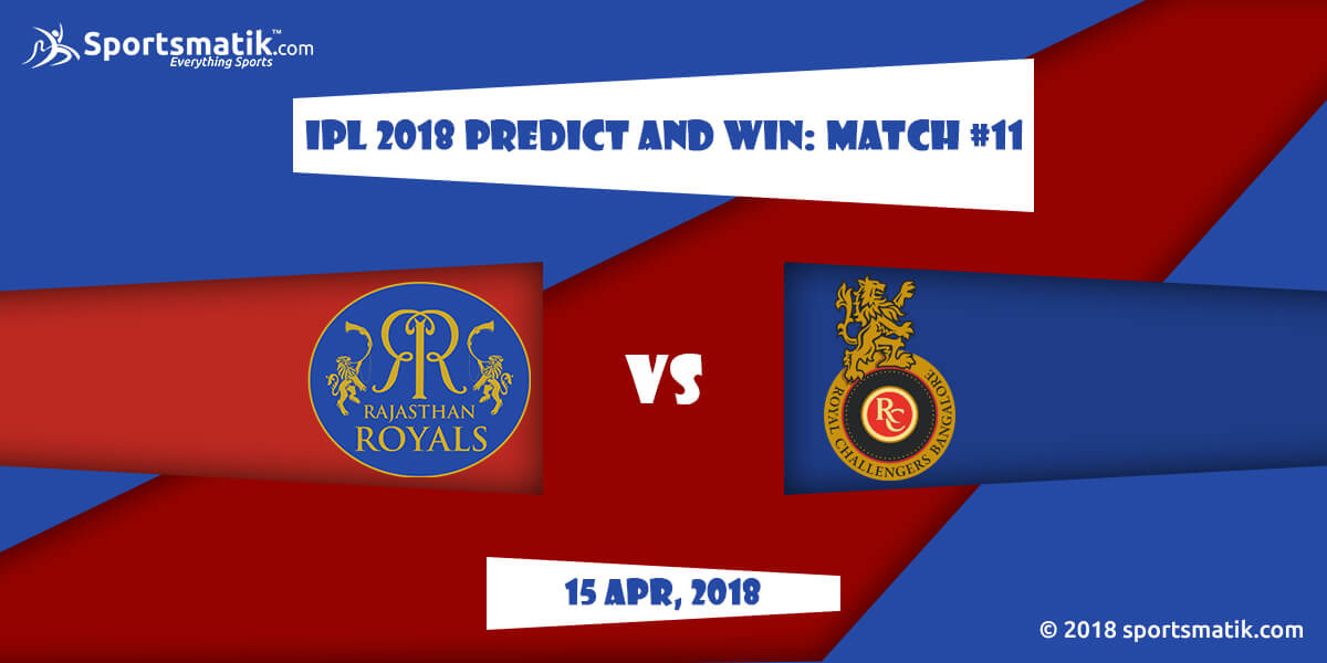 IPL 2018 Predict and Win: Match #11