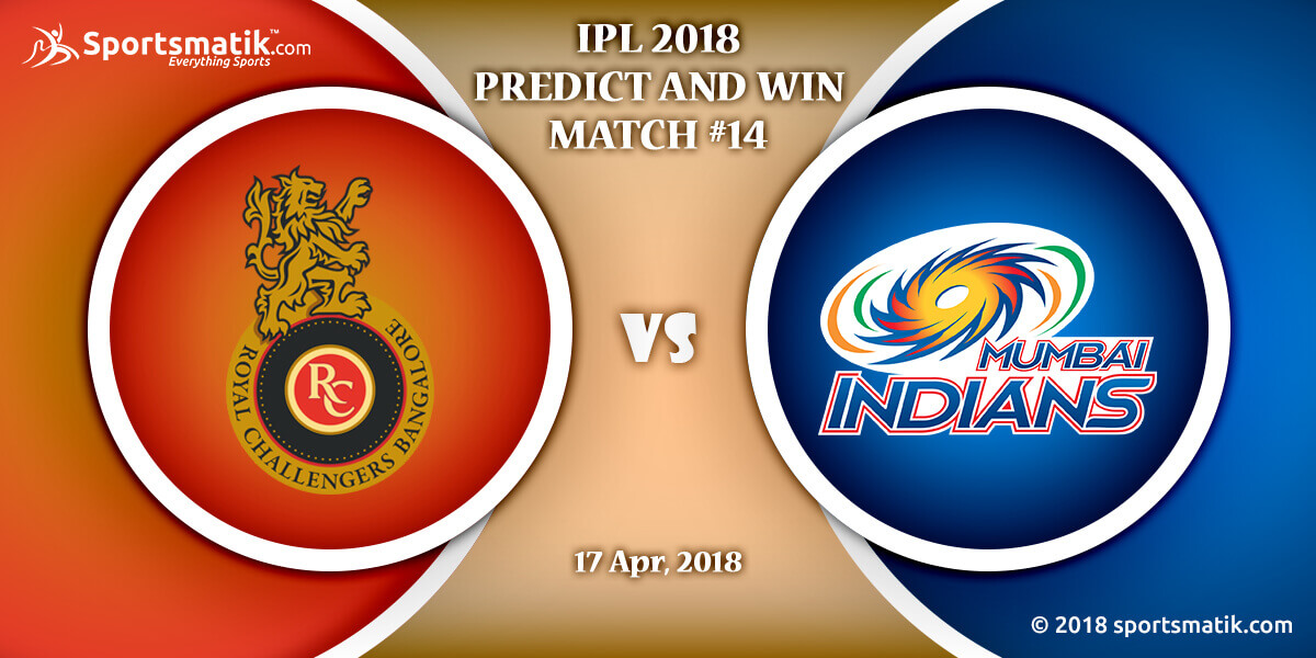 IPL 2018 Predict and Win: Match #14