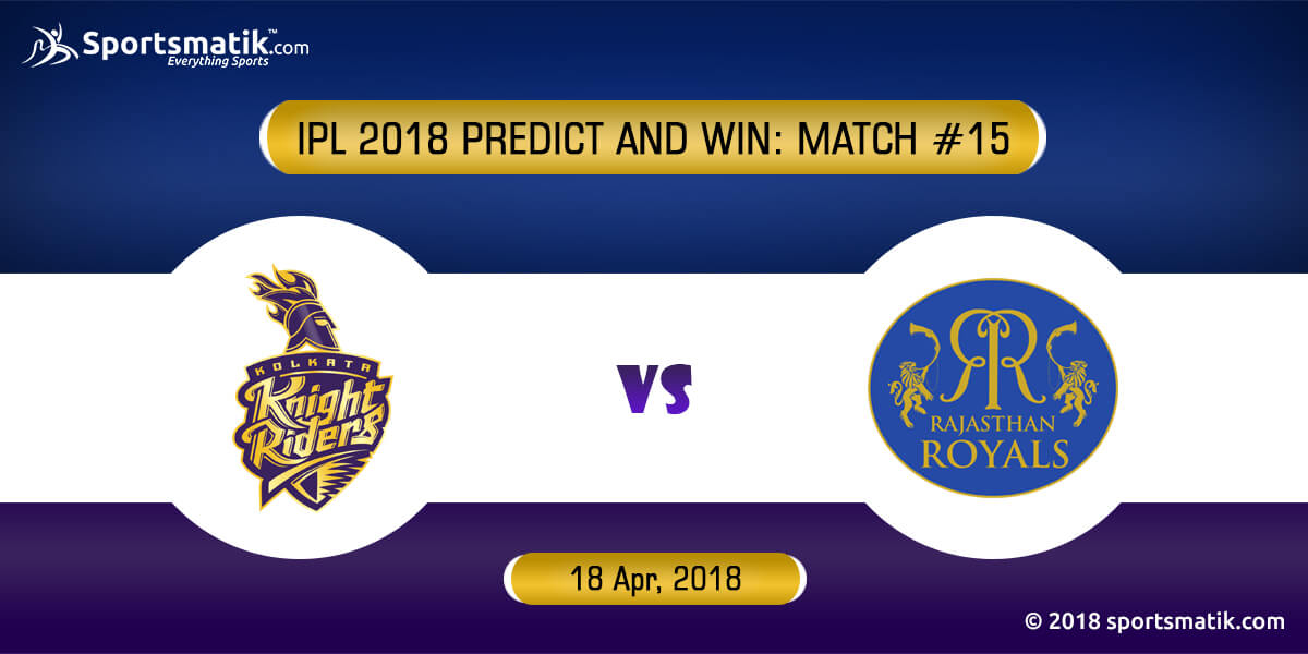 IPL 2018 Predict and Win: Match #15