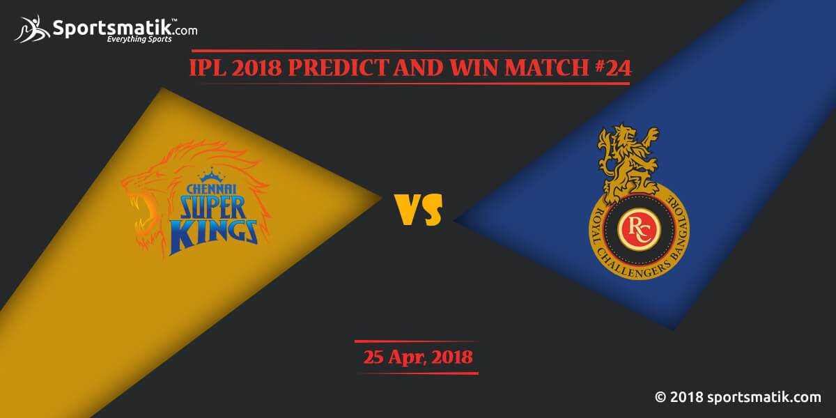 IPL 2018 Predict and Win: Match #24