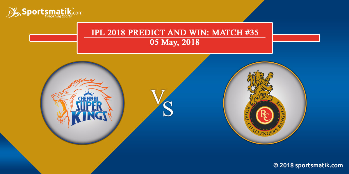 IPL 2018 Predict and Win: Match #35