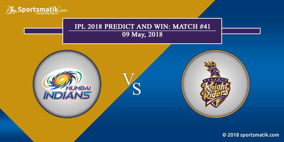 IPL 2018 Predict and Win: Match #41