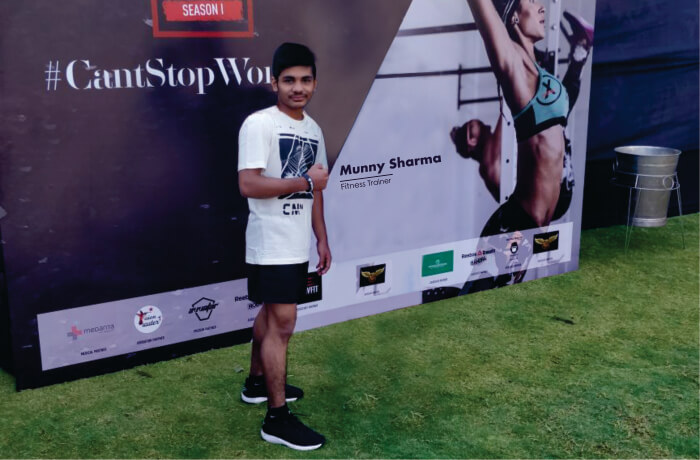 Munny Sharma Fitness Trainer and athlete