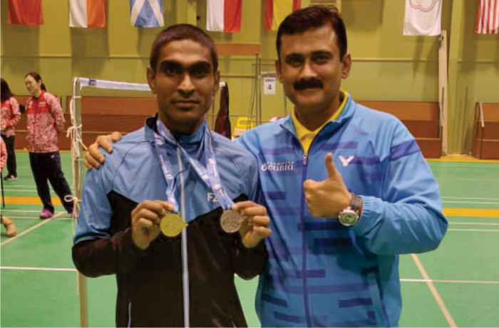 Pramod Bhagat Para Badminton player