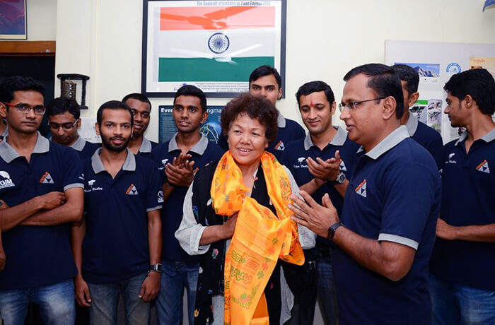 Bachendri Pal is a true inspiration for the world
