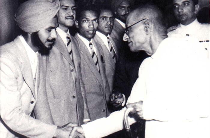Indian Field Hockey legend Balbir Singh Sr.