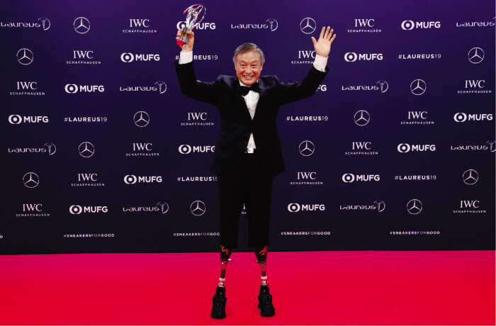 Xia Boyu's Everest Summit is the Laureus Best Sporting Moment of the Year 2019 rare image