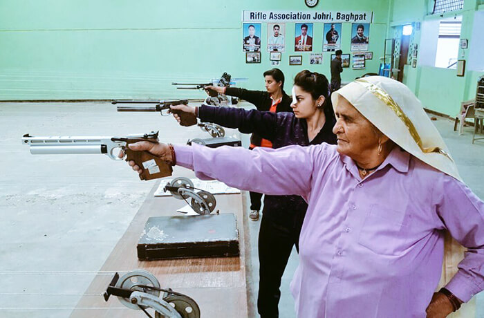 Shooter Dadi: Chandro Tomar at her best to guide young shooters rare image