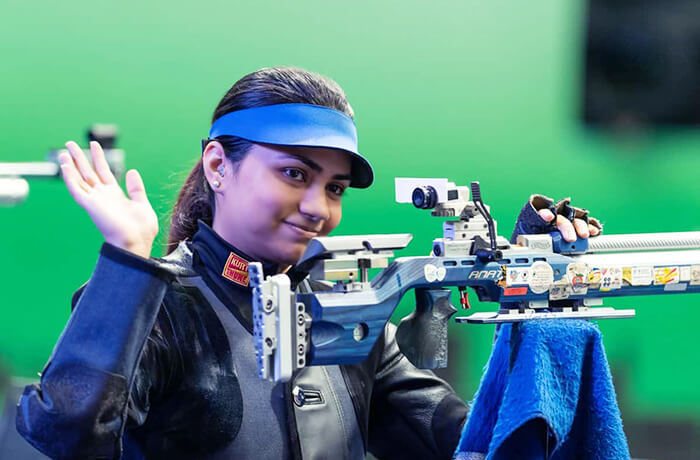 Apurvi Chandela sets new world record at the ISSF World Cup 2019
