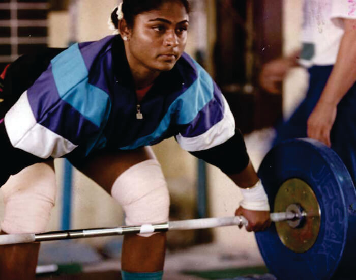 Karnam Malleswari Weightlifter