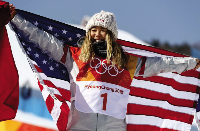Chloe Kim wins Laureus Action Sportsperson of the Year 2019 Award