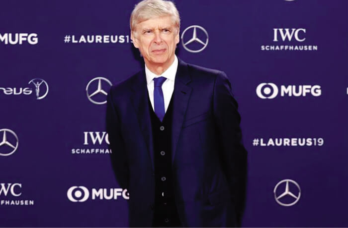 Arsène Wenger won the Laureus Sports Lifetime Achievement Award