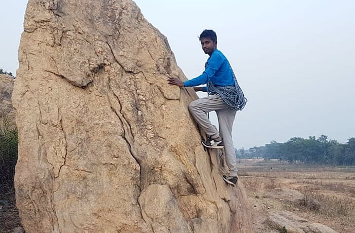 Sayan Mondal: A die hard lover of adventures