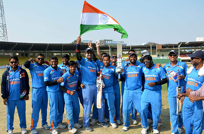Indian Blind Cricket team won the World Cup 2018