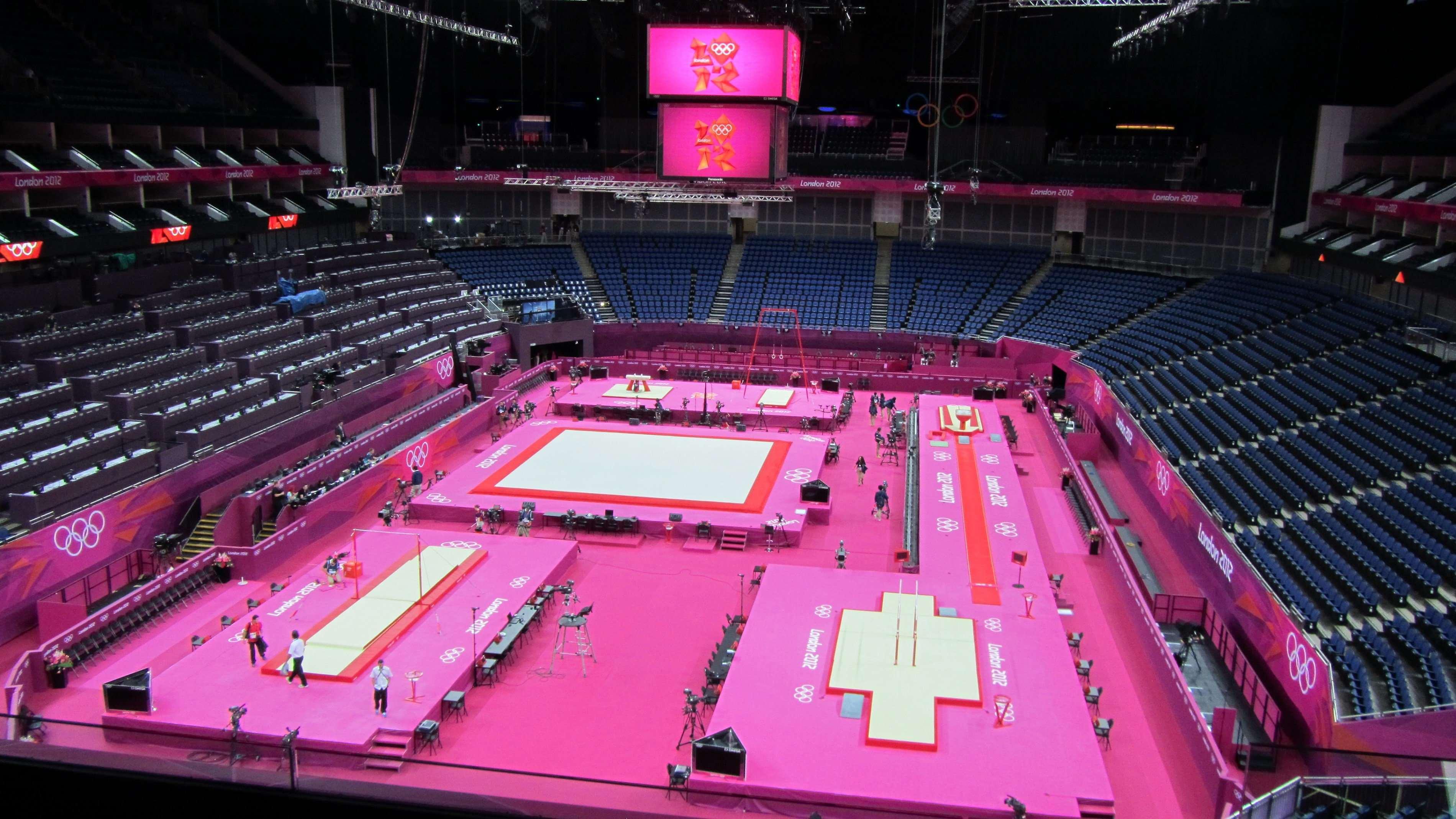 Artistic Gymnastics arena