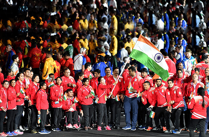 India at the Commonwealth Games 2018