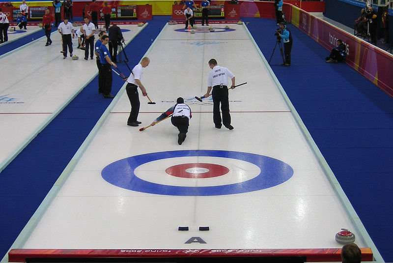 Curling Playing Area