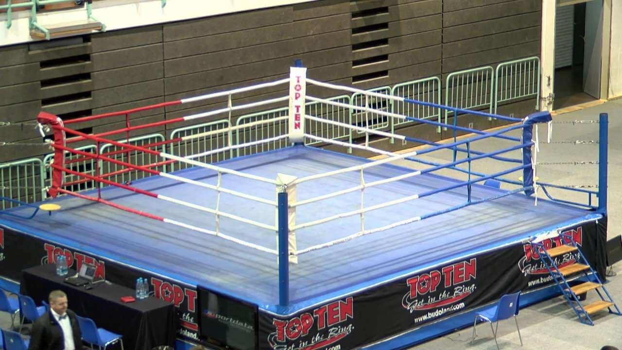 Kickboxing ring