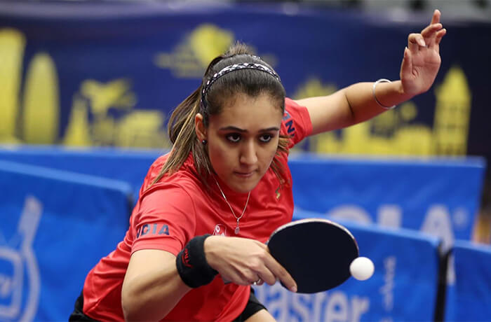 Manika Batra at the Commonwealth Games