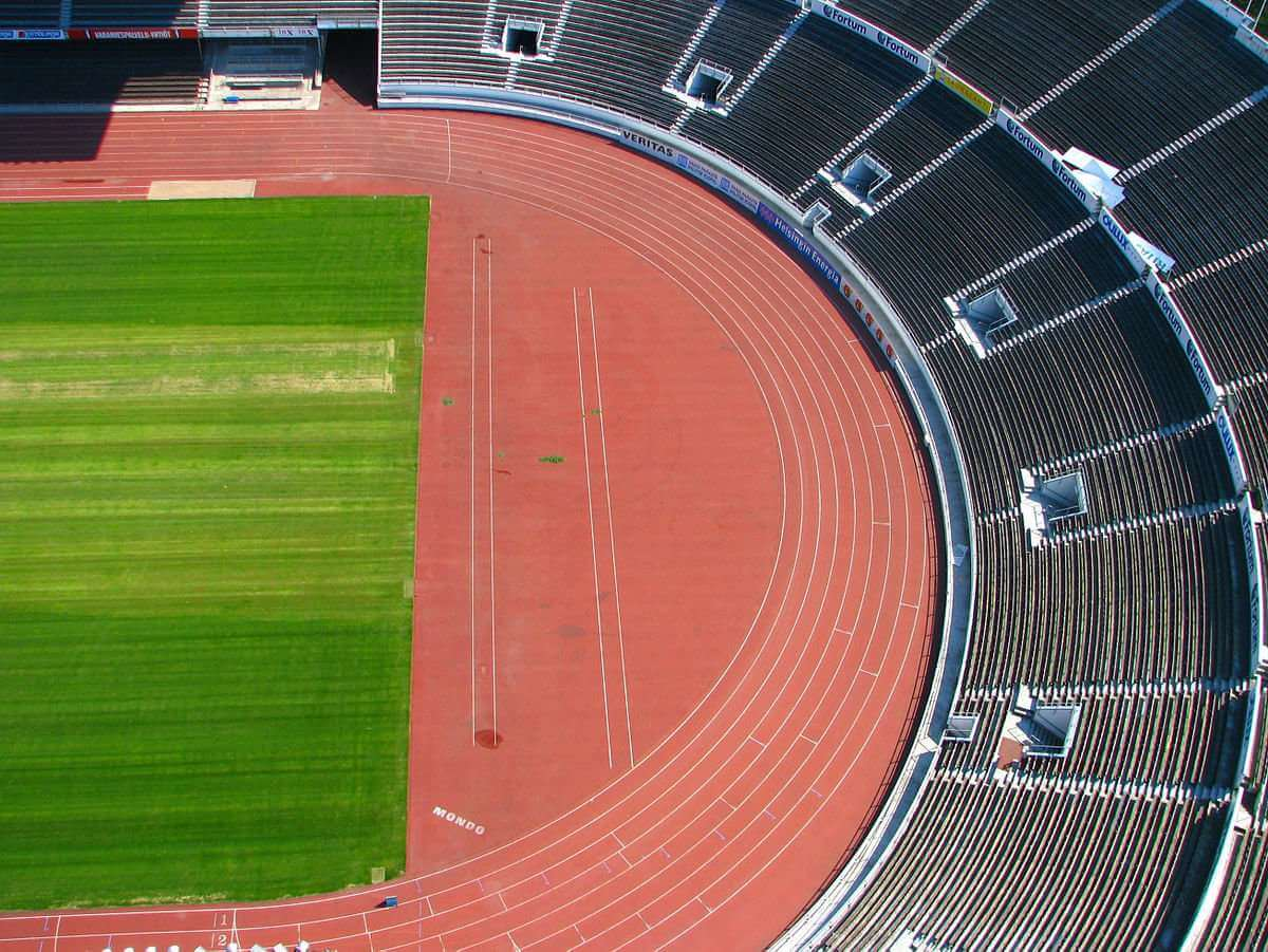 Middle/Long Distance running track