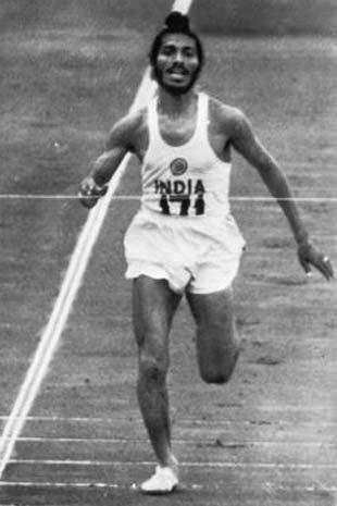 milkha singh running