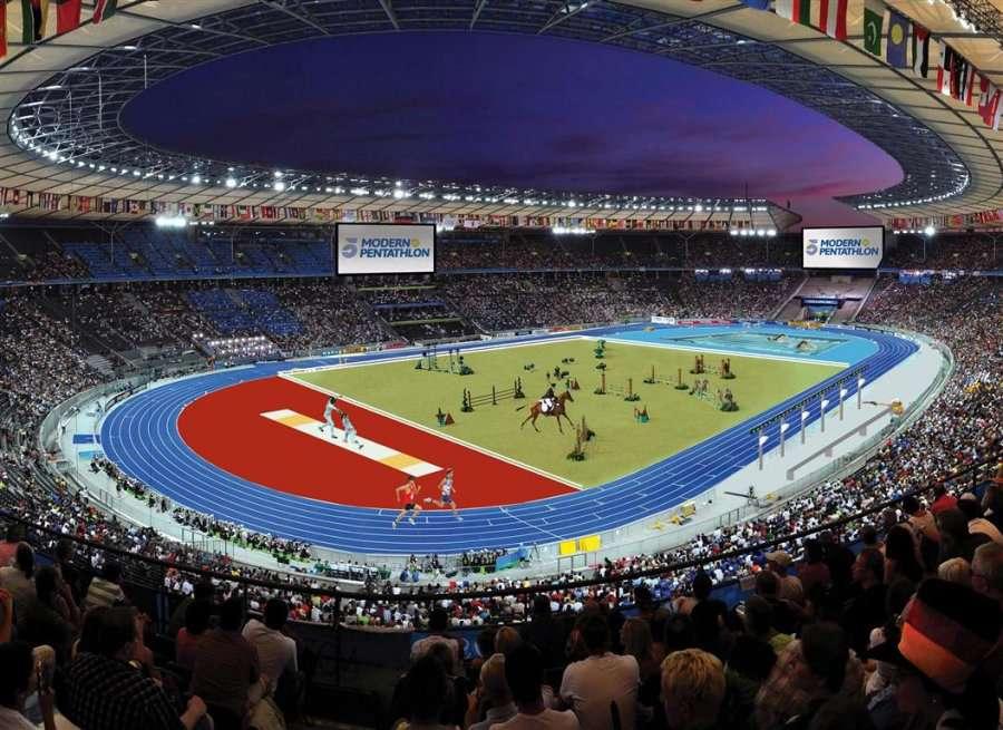 Modern Pentathlon arena