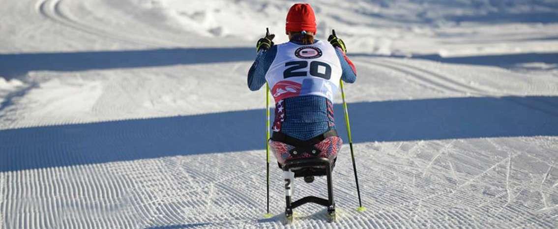 Para Biathlon course