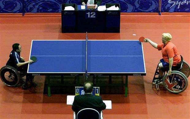 Table of Para-Table Tennis