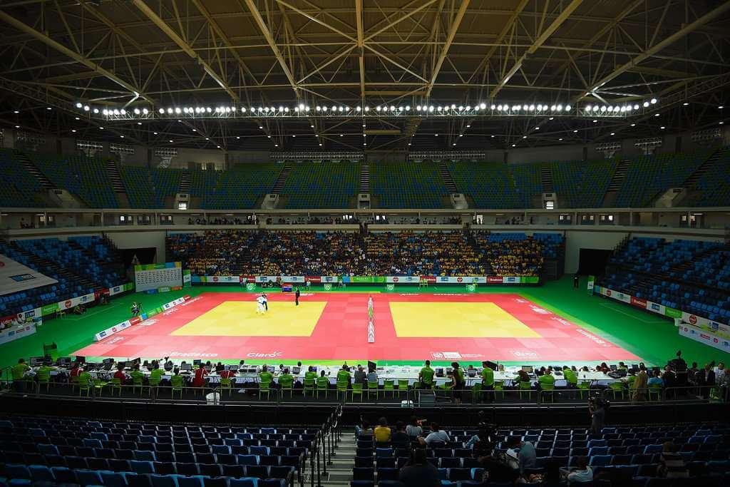 Para judo Arena