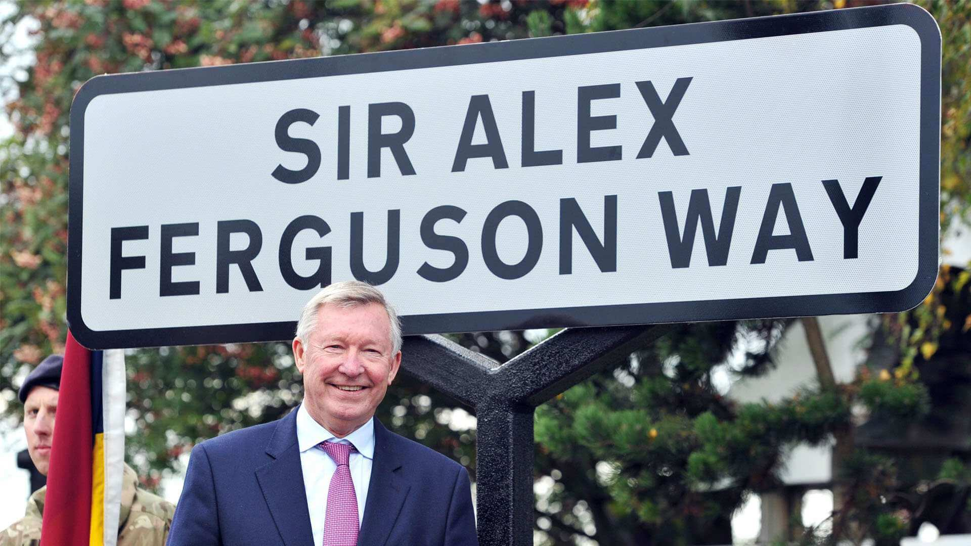 Sir Alex Ferguson Way