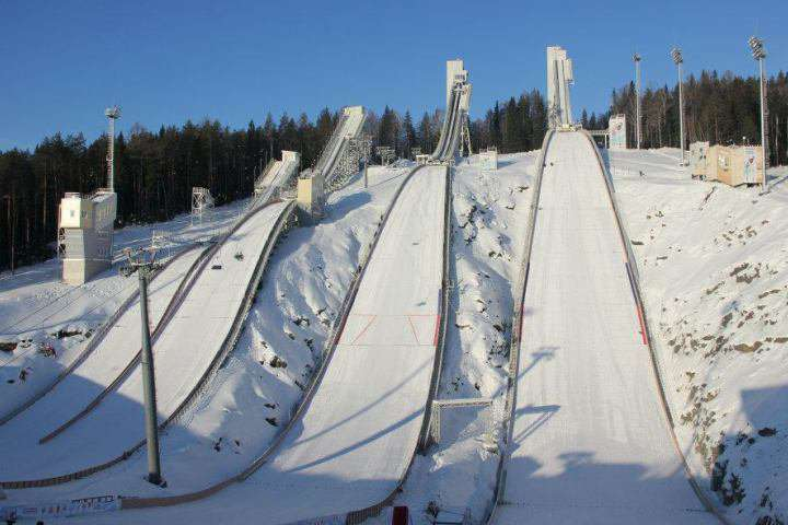 Ski Jumping slopes