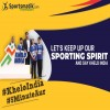 Let's keep up our sporting spirit and say Khe...