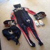 Skeleton sport clothing