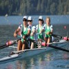 Para-Rowing with blindfolds