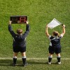 Two linesmen