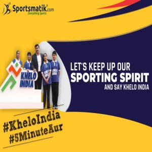 Let's keep up our sporting spirit and say Khelo India #...