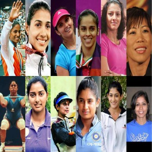 Top 12 Indian female athletes ...