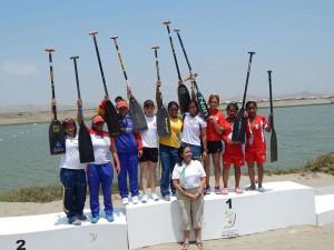 Women's Canoe in Bolivarian Games