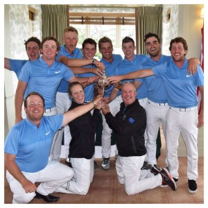Europe Team in Arnold Palmer Cup