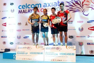 BWF Super Series Champions