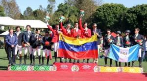 Team Venezuela wins Gold at Central American Games