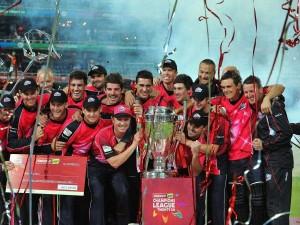 Sydney Sixers celebrate