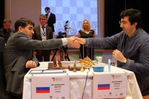 Vladimir Kramnik, Dmitry Andreikin