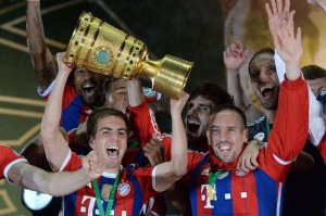 FC Bayern win the German double