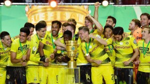 Borussia Dortmund won DFB-Pokal